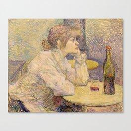 """Henri de Toulouse-Lautrec """"The Hangover (Suzanne Valadon)"""" Canvas Print"""