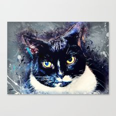 Cat Jagoda art Canvas Print