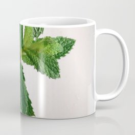 The Avant-Garden Forage || Mint Leaves  Coffee Mug