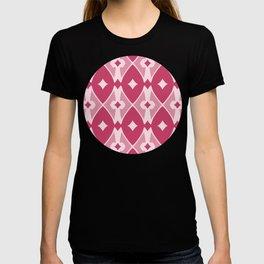 Rounded Argyle Pattern T-shirt