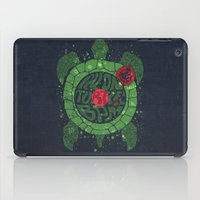 charli xcx iPad Cases featuring On Turtle BPM by Sitchko Igor