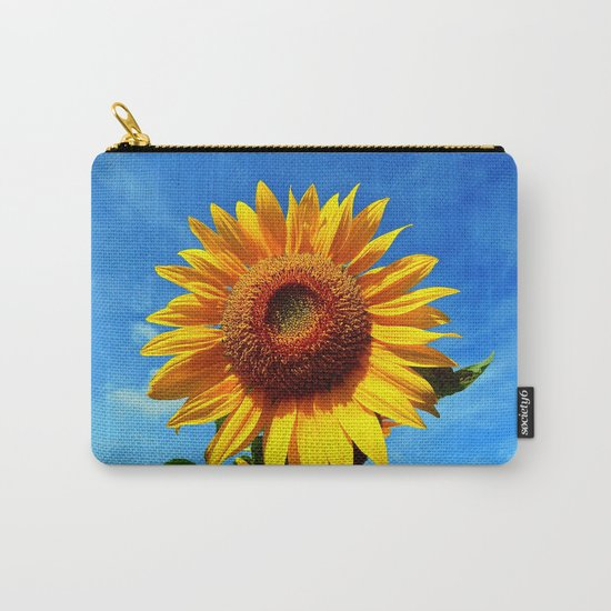 Stunning Sunflower Carry-All Pouch