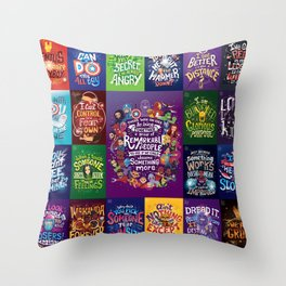 IW Complete set Throw Pillow