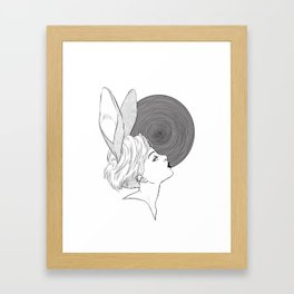 In the hole Framed Art Print
