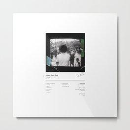 J. Cole - 4 Your Eyez Only (Album Cover) Hip Hop Art Music Metal Print