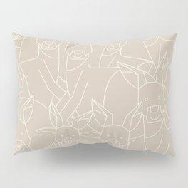 Minimalist Kangaroo Pillow Sham