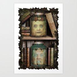 Head of the United States?  Art Print