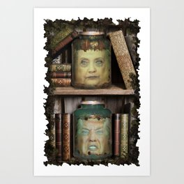 Head of the United States?  Art Print