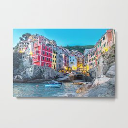 Cinque Terre, Italy Metal Print