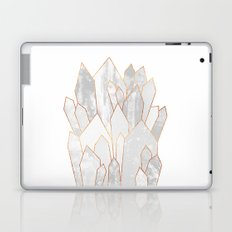 White Crystals Laptop & iPad Skin