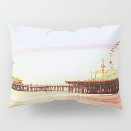Santa Monica Pier Sunrise Pillow Sham