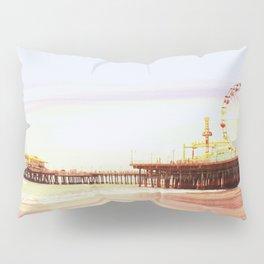 Santa Monica Pier Sunrise Pillow Sham