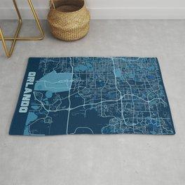 Orlando - United States Peace City Map Rug
