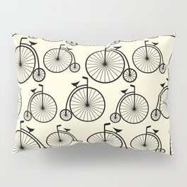 Vintage Bike Pillow Sham