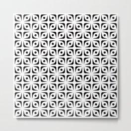 Geometric Pattern 144 (Fruit pip) Metal Print