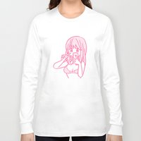 selfie Long Sleeve T-shirts featuring Selfie by conix