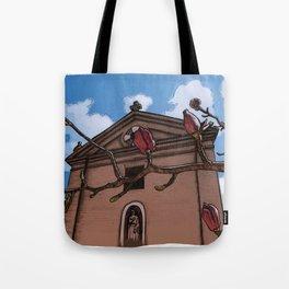 Magnolia (color) Tote Bag