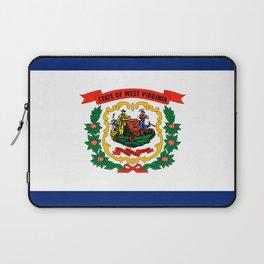 West Virginia flag Laptop Sleeve