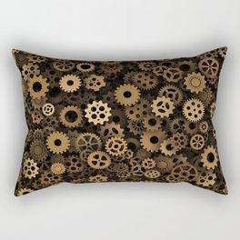 Steampunk cogwheels Rectangular Pillow