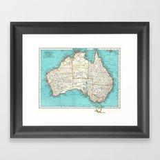 Australia; re-imagined Framed Art Print