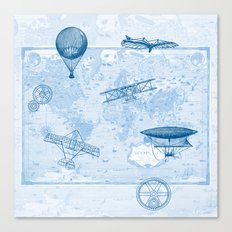 A Brief History of Flight Canvas Print