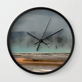 Geyser Heaven Wall Clock