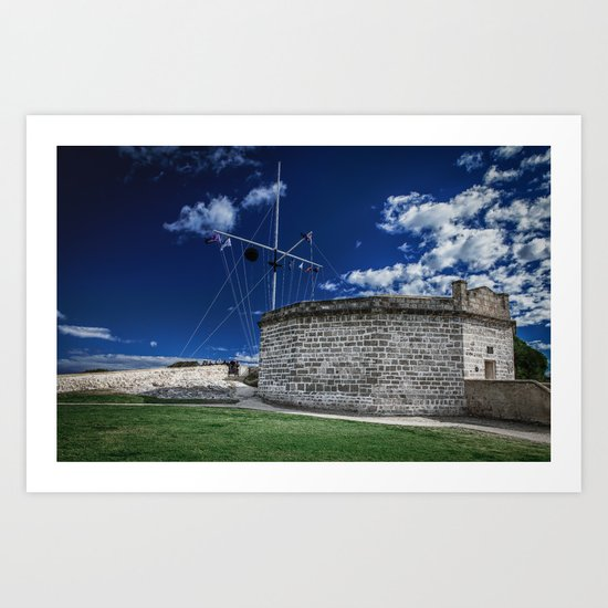 The Roundhouse Art Print