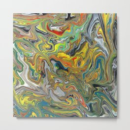 Abstract Oil Painting 6 Metal Print