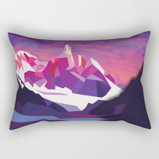 Night Mountains No. 12 Rectangular Pillow