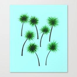 Palm Print Canvas Print