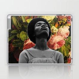 Head full of flowers Laptop & iPad Skin