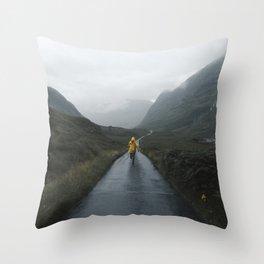 Skyfall - Landscape Photography Throw Pillow
