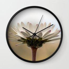 Sunrise daisy Wall Clock