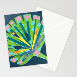 Fan Leaf Stationery Cards