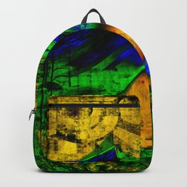An Abstract Land Backpack