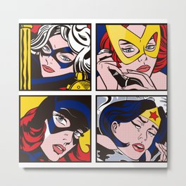 Girl Power 5 Metal Print