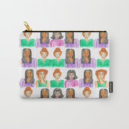Urban life pattern // Commuting life // Women Empowerment Collection // Carry-All Pouch