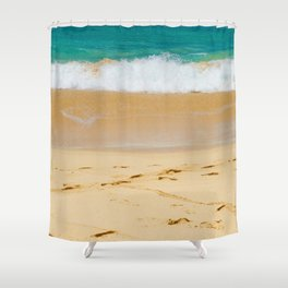Shoreline Beach Shower Curtain