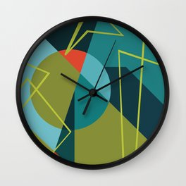 Morse Frequencies Wall Clock