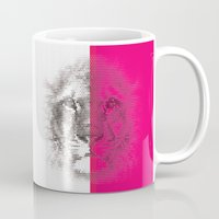 hologram Mugs featuring HoloLeo by PandaTrip