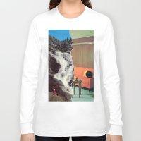 outdoor Long Sleeve T-shirts featuring Indoor/Outdoor by Tyler Hewitt