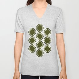Hatchees (Olive Green) Unisex V-Neck
