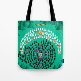Mahabharata - 13th Day of Battle Tote Bag