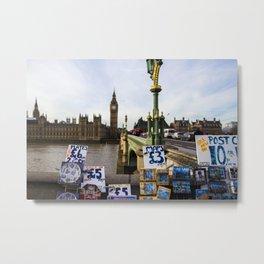 Tourist in London Metal Print
