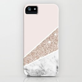 Sparkles and Marbles iPhone Case
