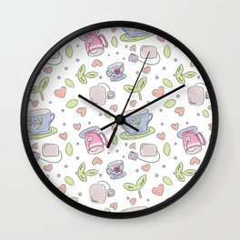 There's Always Time for Tea Wall Clock