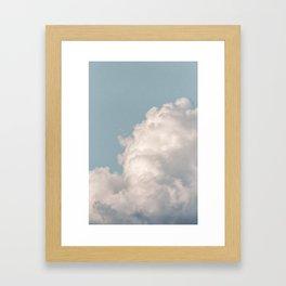 soul · clouds Framed Art Print