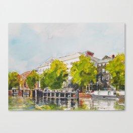 Amsterdam Cityscapes 29 Canvas Print