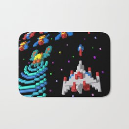 Inside Galaga Bath Mat