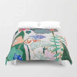 Speckled Garden Duvet Cover